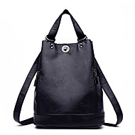 Women Bags All Seasons PU Backpack Zipper for Casual Blue Black Red Bronze Purple