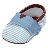 Bebê sapatos Lona Primavera Verão Conforto Solados com Luzes Rasos Para Casual Azul Escuro Rosa claro Azul Claro Khaki