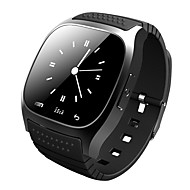 Smartwatch m26 bluetooth relógio inteligente com led alitmeter musicplayer pedômetro ios telefone inteligente Android