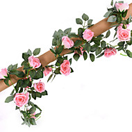 16 Heads 2.2M Rose Vine Artificial Flower Home Decoration Wedding Supply