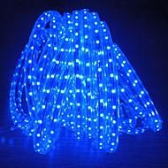 8メートル220Vのhigtの明るいは、EU電源プラグの光ストリップ柔軟5050 480smd 3結晶防水ライトバーのガーデンライトを導きました
