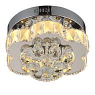 lightmyself trinnløs dimming moderne krystall taklampe innendørs lys for stue soverom spisestue