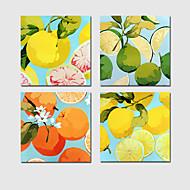Недорогие -Холст для печати 4 панели Холст С картинкой Декор стены For Украшение дома