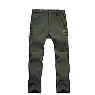 Χαμηλού Κόστους -Ανδρικά Pantaloni de Drumeție Εξωτερική Αδιάβροχη, Διατηρείτε Ζεστό, Αντιανεμικό Φθινόπωρο / Χειμώνας Παντελόνια Κυνήγι / Σκι / Πεζοπορία