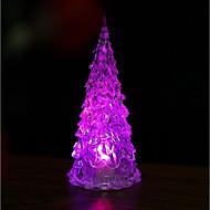 billige Bestselgere-1pc lysende eventyr farge skift ledet natt lys lampe tre ornament
