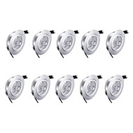 3w LED Downlights Warm White 10 pcs 85-265v High Quality LED Light