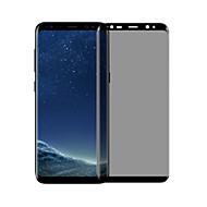 Karkaistu lasi Näytönsuojat varten Samsung Galaxy S8 Plus Näytönsuoja 9H kovuus Tahraantumaton Anti-vakooja 3D pyöristetty kulma