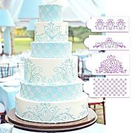 Bakeware eszközök Műanyagok Sütés eszköz Mindennapokra süteményformákba 1set