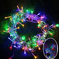 brelong 10m 100 led christmas halloween decorativo luz festival luz decorativa - rgb / quente branco / branco (110v / 220v) sem bateria