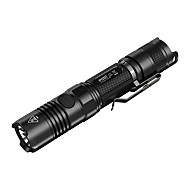 cheap Flashlights & Camping Lanterns-Nitecore P12GT LED Flashlights / Torch LED 1000 lm 4 Mode LED Impact Resistant Nonslip grip Rechargeable Dimmable Waterproof Easy