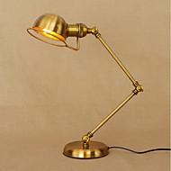 billige Lamper-metallic Kunstnerisk Rustikk Øyebeskyttelse Foldbar Swing Arm Svingarm Lamper Dekorativ Bordlampe Til Metall 110-120V 220-240V