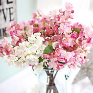 billige Kunstig Blomst-Kunstige blomster 1 Afdeling Europæisk Sakura Bordblomst
