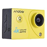 billige Overvåkningskameraer-Mini Videokamera Høy definisjon Wifi Vanntett 4K Lett å bære Vidvinkel