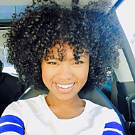 """Pre-loop Haak Braids 1pc / verpakking Haarvlechten Jerry krullen 12"""" 100% kanekalon haar Ombre Haarvlechten Synthetisch Zwart /"""