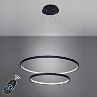 billige Bestelgere-Ecolight™ 2-Light Sirkelformet Anheng Lys Omgivelseslys - LED, 110-120V / 220-240V, Varm Hvit / Hvit / Dimbar med fjernkontroll, LED