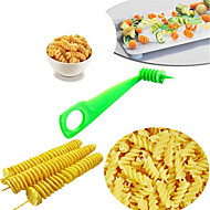 Vegetable Spiral Slicer Cutting Carrot Cucumber  Zucchini Pattern Carved Flowers Random Color