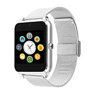 dmdg® bluetooth smart watch kameraopkald sms minde sove monitor skridttæller støtte sim tf kort rustfrit stål rem