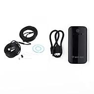 billige Overvåkningskameraer-wifi endoskop 9mm linse usb kamera vanntett ip67 inspeksjon borescope 20m kabel for android ios pc slange trådløs kamera