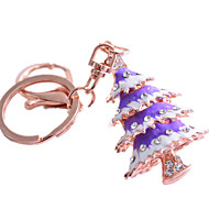 Key Chain Christmas Trees おもちゃ ノベルティ柄 クリスマス 男女兼用 小品