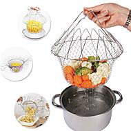baratos Utensílios de Fruta e Vegetais-Utensílios de cozinha Aço Inoxidável Nova chegada Coadores Para utensílios de cozinha 1pç