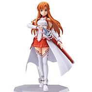 Anime Actionfigurer Inspireret af Sword Art Online Asuna Yuuki PVC 13 cm CM Model Legetøj Dukke Legetøj