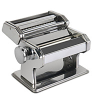 Silvery Kitchen Stainless Steel Multifunctional Manual Noodle Maker Machine