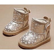 baratos Sapatos de Menina-Para Meninas sapatos Couro Ecológico Outono Inverno Botas de Neve Botas para Casual Dourado Rosa claro