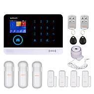 konlen® h36 android wifi gsm sistema de alarme anti-roubo rfid para casa residencial inteligente segurança residencial alarmes de