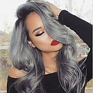 お買い得  グラデーションカラー・ヘアエクステンション-ブラジリアンヘア ウェーブ 人間の髪織り 4本 0.4