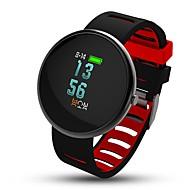 tanie Inteligentne zegarki-0,95 cala oled kolorowych inteligentnych bransoletka kalorii spalone krokomierze sleep tracker monitora tętna monitora anty-lost for ios
