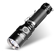 cheap Flashlights & Camping Lanterns-KLARUS ST15 LED Flashlights / Torch LED 1100lm Manual Mode Zoomable / Professional / Waterproof Camping / Hiking / Caving / Everyday Use