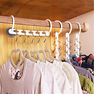 cheap Hooks&Fixtures-Textile Plastic Oval Normal Home Organization, 1pc Drying Racks Hangers