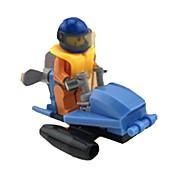 조립식 블럭 레이스 자동차 장난감 차 1 조각