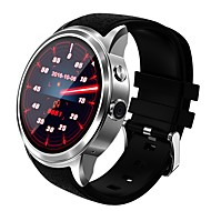 jsbp mænds kvinde x200 android bluetooth smartwatch / wifi positionering / kamera / 3g / hjertefrekvens / gps / app download