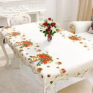 1本110x180cm長方形の使い捨てテーブルクロスクリスマステーブルクロスの家の装飾