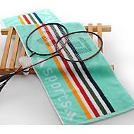 billiga Handdukar och badrockar-Färsk stil Sport Handduk,Randig Överlägsen kvalitet Ren bomull Handduk