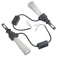 2pcs H4 / H1 Auto Lamput Integroitu LED 4000 lm Ajovalo Käyttötarkoitus