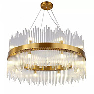 Недорогие -QIHengZhaoMing Подвесные лампы Рассеянное освещение - Лампочки включены Расширенный, LED Изысканный и современный Модерн, 110-120Вольт