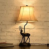 60 Dyremønster Bordlampe , Trekk til Originale , med Maleri Bruk På/Av Bytte om