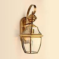 cheap -QIHengZhaoMing Country Wall Lamps & Sconces Metal Wall Light 110-120V / 220-240V 40W