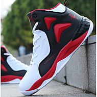 Men's Shoes PU Spring Fall Comfort Sneakers For Casual Blue Red Black
