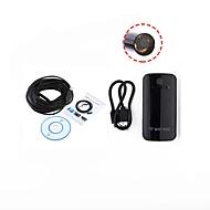 billige Overvåkningskameraer-10mm linse wifi endoskop usb kamera inspeksjon borescope vanntett ip67 for android ios pc 15m kabel slange trådløs kamera