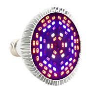 12W E27 LED Grow Lights PAR30 78 SMD 5730 1050-1150 lm Purple - K Decorative AC85-265 V 1 pcs