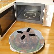 protetor de salpicos de alimentos suspenso de microondas cobertura anti-pulverização 1pc, ferramenta de cozinha