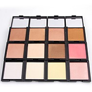 12 Powder Concealer/Contour Highlighters/Bronzers Shimmer Mineral Pressed powder Long Lasting Face