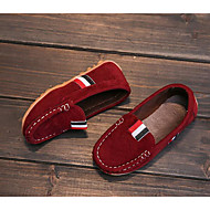 baratos Sapatos de Menino-Para Meninos Sapatos Couro Ecológico Primavera Conforto Mocassins e Slip-Ons para Marron / Verde Tropa / Vinho