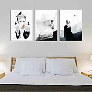 Maalattu Moderni Taiteellinen Abstrakti Moderni tyyli Art Deco/Retro Syntymäpäivä Moderni/nykyaikainen Toimisto/työ Tyylikäs Joulu
