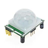 Pyroelectric Infrared Sensor de movimento PIR Módulo de Detecção