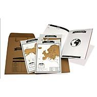 halpa -matkakuva kartta naarmu kartta matkustuspäiväkirja turistikartat muistikirja paras matkakohde mini maailmankartalla