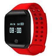 tanie Inteligentne zegarki-Inteligentne Bransoletka Ekran dotykowy Pulsometr Wodoszczelny Spalone kalorie Krokomierze Rejestr ćwiczeń Pomiar ciśnienia krwi Długi